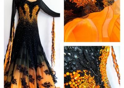 Black meets Orange